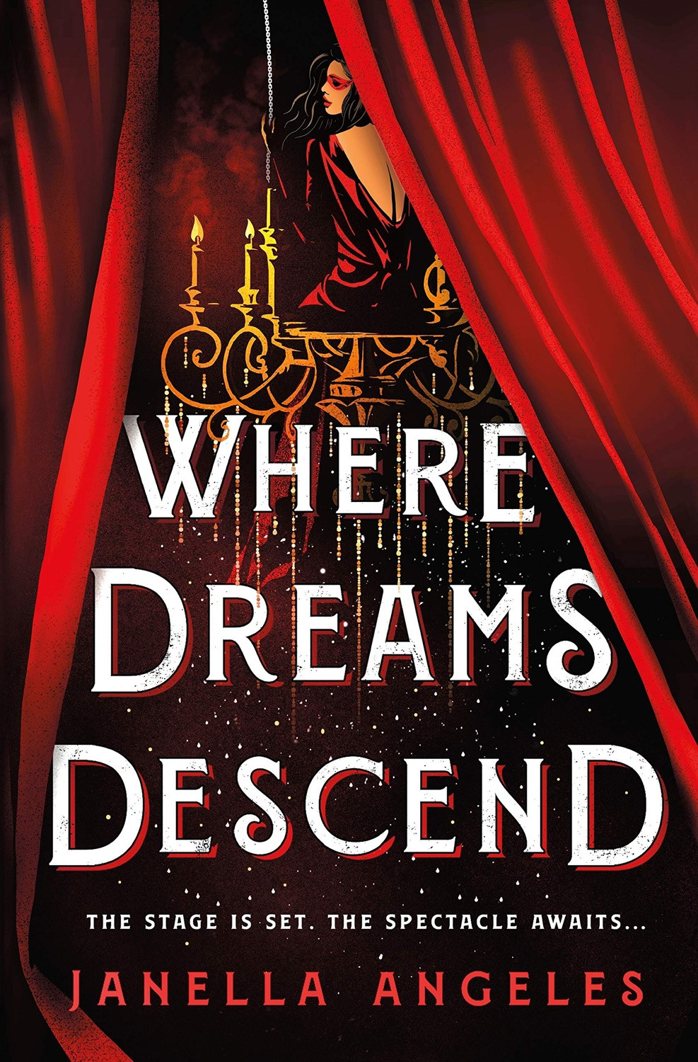Where Dreams Descend by Janella Angeles - Book Cover | 13 YA Books Out In August 2020