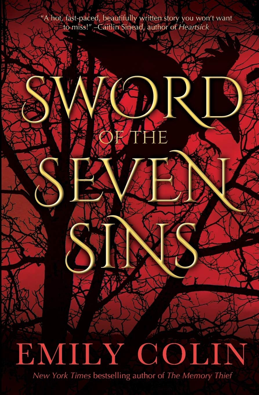 Sword of the Seven Sins by Emily Colin - Book Cover | 13 YA Books Out In August 2020