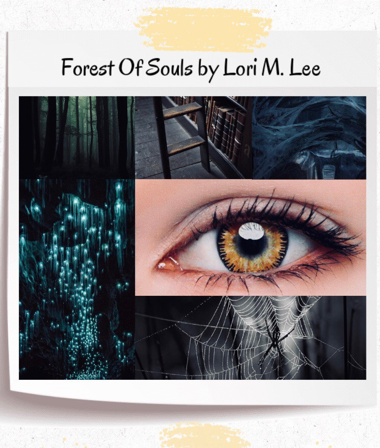Book Aesthetic: Forest of Souls by Lori M. Lee. Curated by Lourdes Montes
