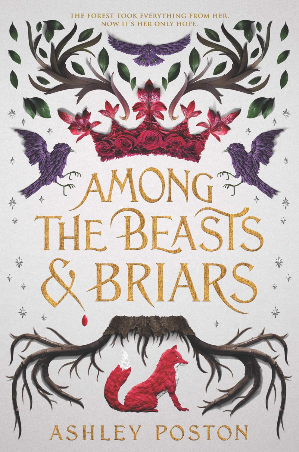 Book Cover: Among Beasts and Briars by Ashley Poston - 10 YA Books Out in October 2020 - Two Arts in a World