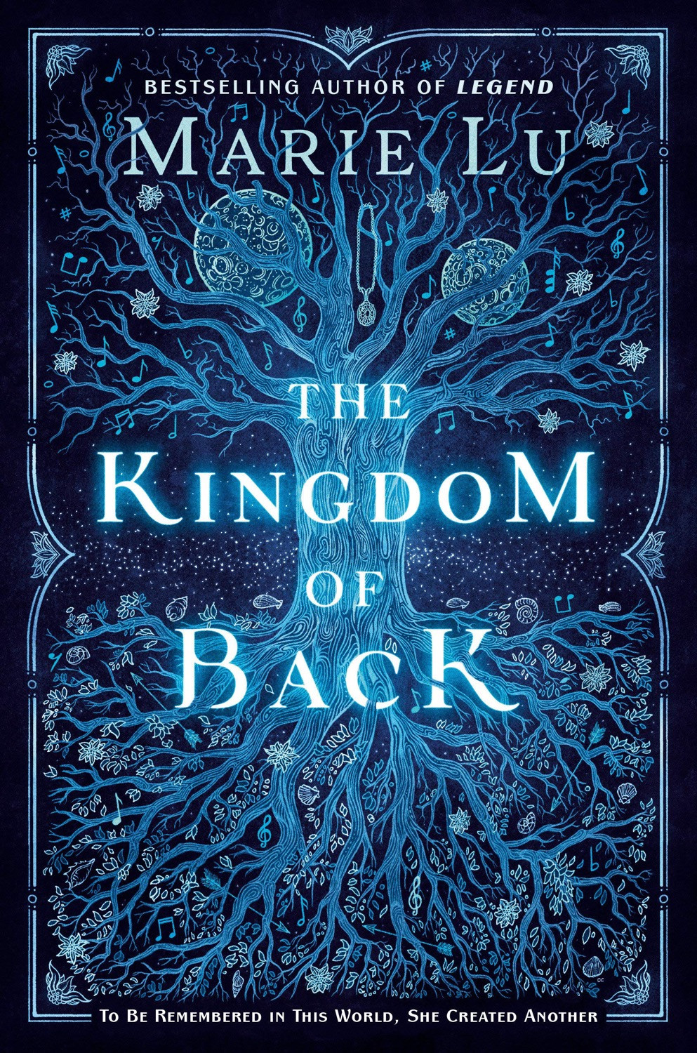 Cover of The Kingdom of Back by Marie Lu