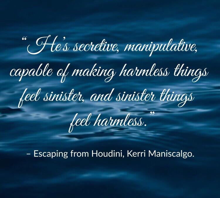 Quote from Escaping From Houdini by Kerri Maniscalgo. Edited by Lourdes Montes.