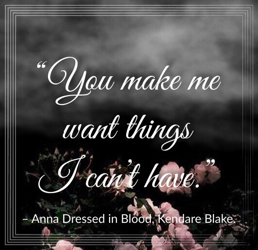 Quote from Anna Dressed in Blood by Kendare Blake. Edited by Lourdes Montes. Two Arts in a World. September, 2019.