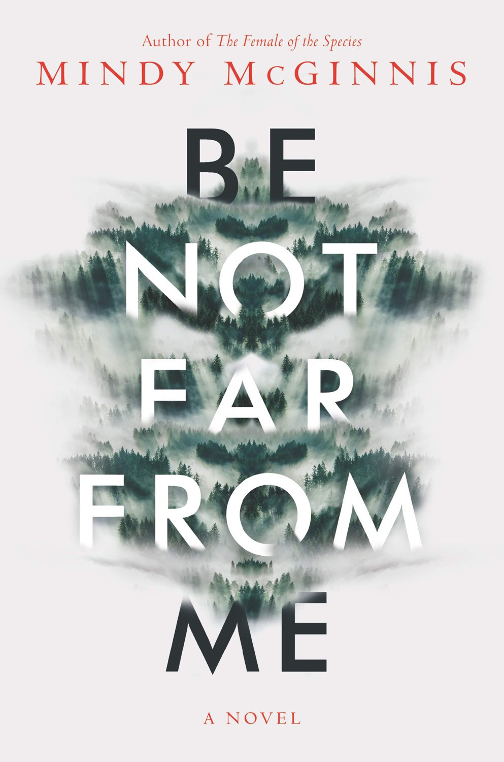 Cover of Be Not Far From Me by Mindy McGinnis