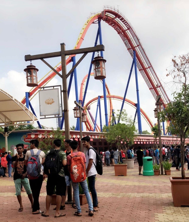 Imagica before the park opened.