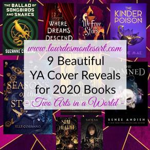 9 Beautiful YA Cover Reveals for 2020 Books