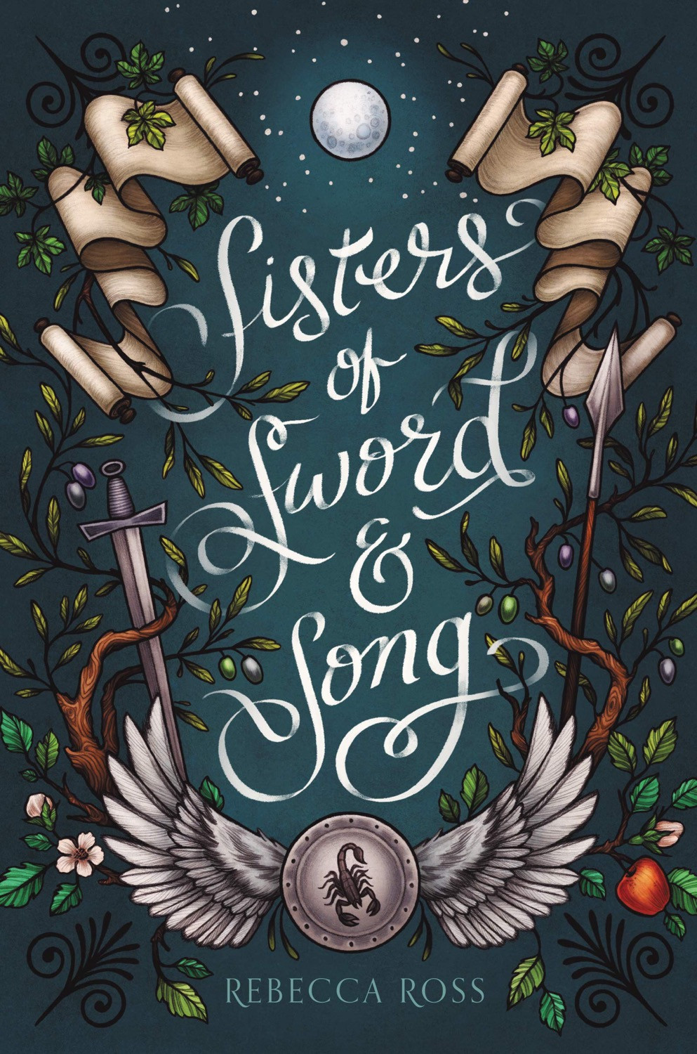 Sisters of Sword and Song by Rebecca Ross - Book Cover | 18 YA Books Out In June 2020