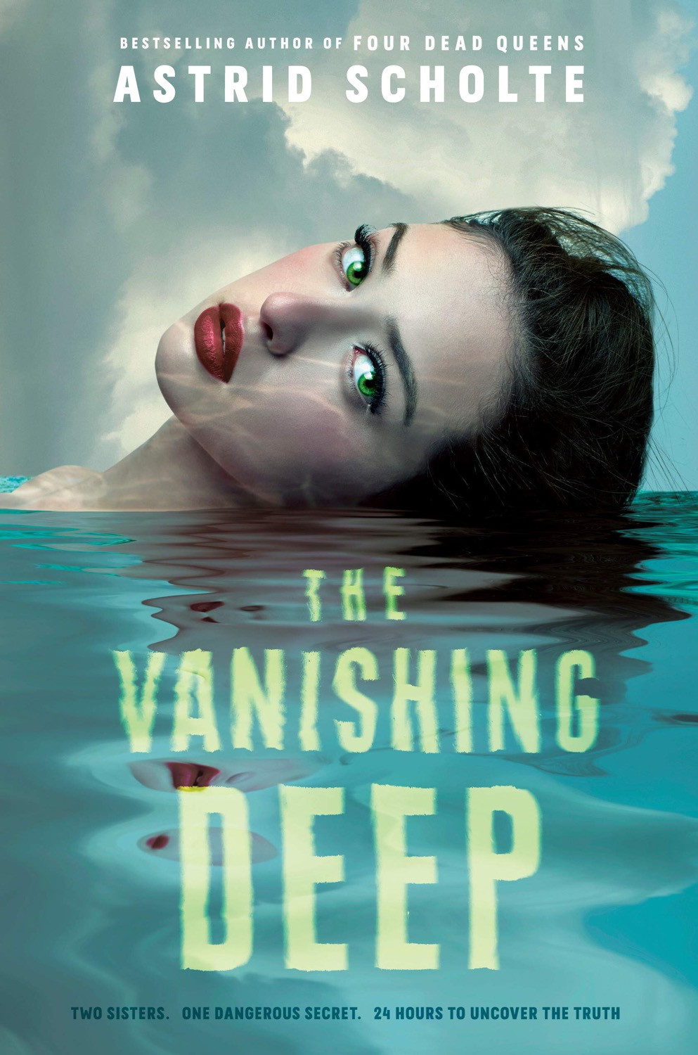 Cover of The Vanishing Deep by Astrid Scholte