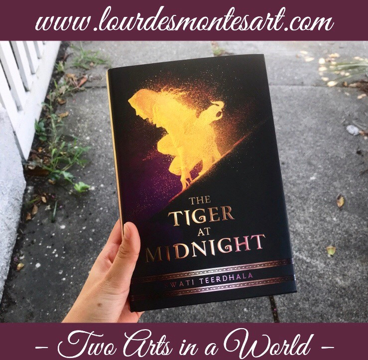 Book Review of Swati Teerdhala's The Tiger at Midnight by Lourdes Montes. Two Arts in a World, October, 2019.