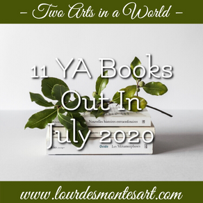 11 YA Books Out In July 2020