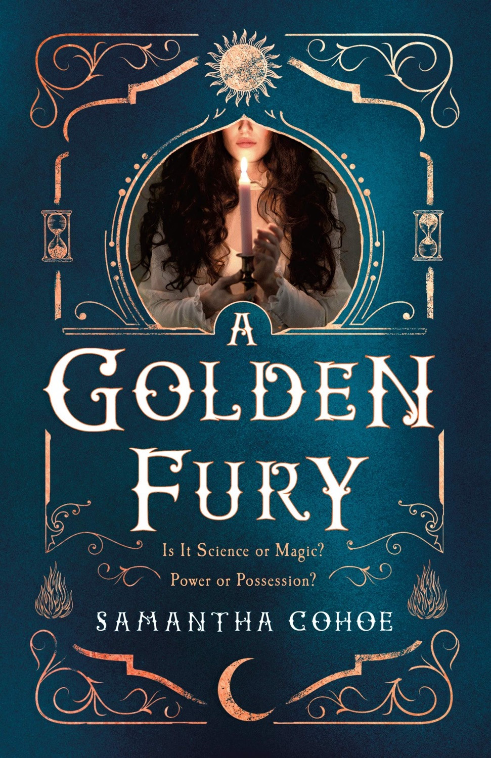 Book Cover: A Golden Fury by Samantha Cohoe  - 10 YA Books Out in October 2020 - Two Arts in a World