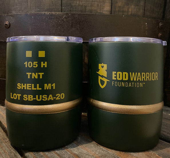 EOD Warrior Foundation M1 105mm HE 12oz Mug