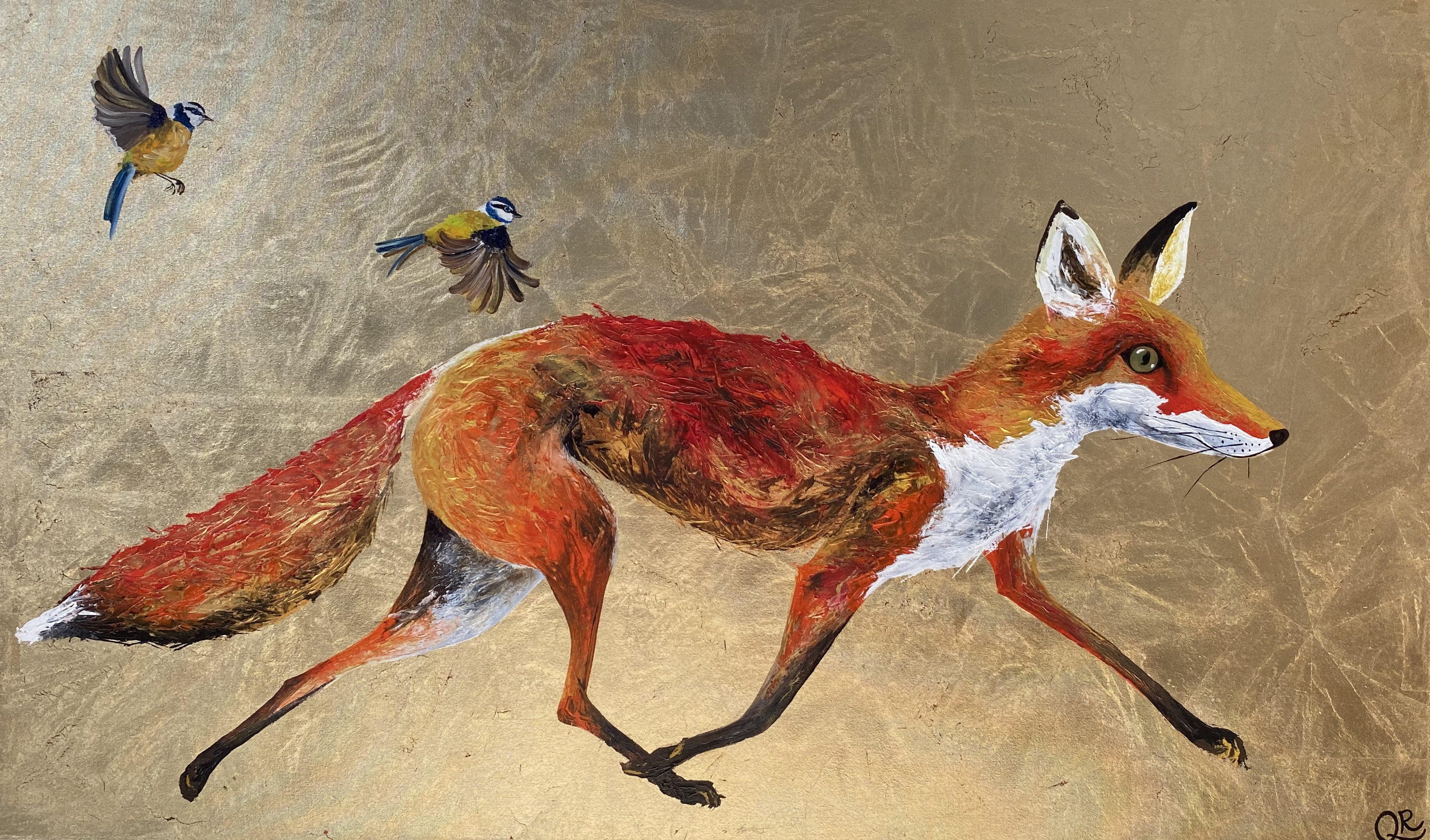 Francis (fox and feather)