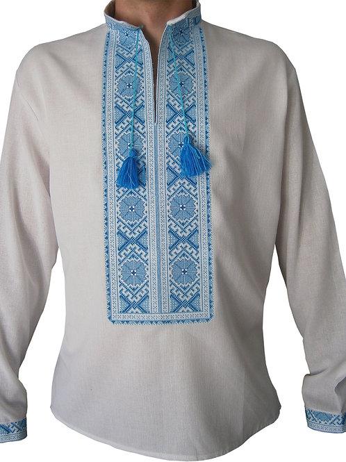 Вишиванка, чоловіча вишита сорочка (арт. 00583)