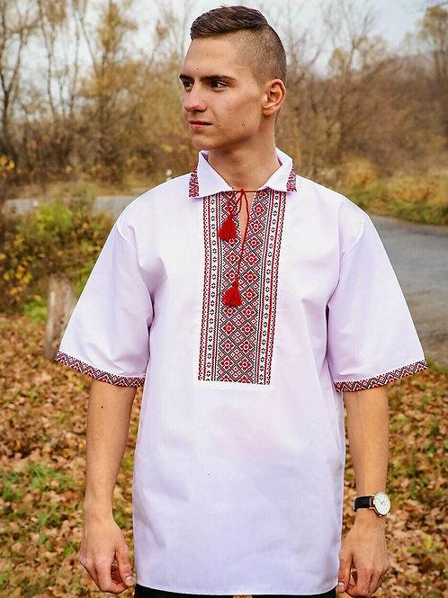 "Вишиванка ""Козак"" - чоловіча вишита сорочка (Арт. 02472)"