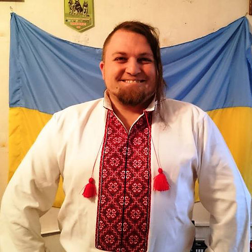 "Вишиванка ""Козацька"" - чоловіча вишита сорочка (Арт. 00111)"