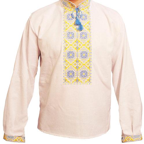 Вишиванка, чоловіча вишита сорочка (Арт. 00125)