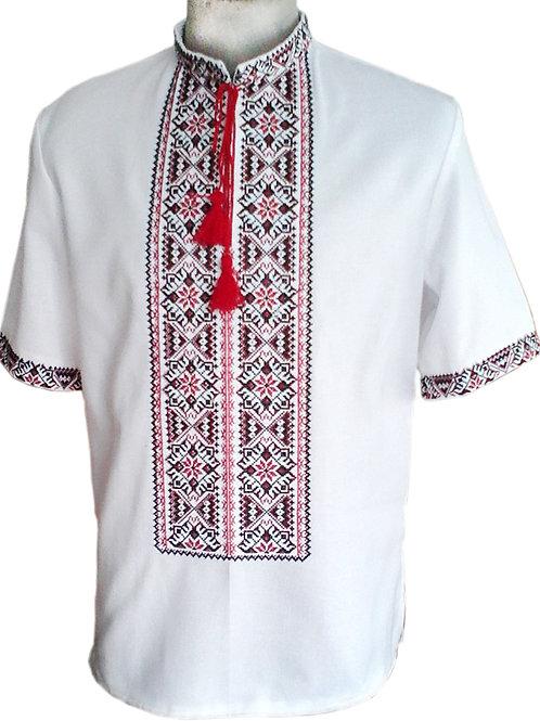 Вишиванка, чоловіча вишита сорочка (Арт. 01874)
