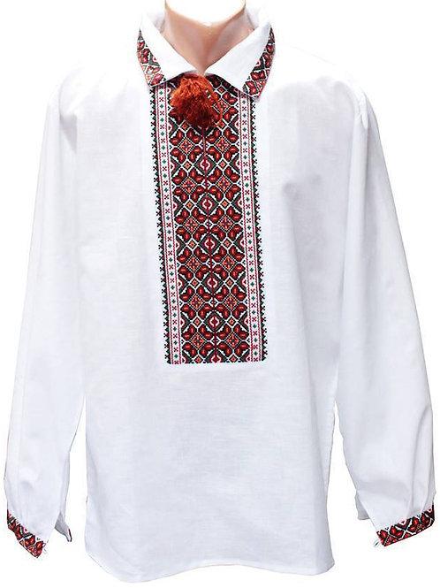 """Вишиванка чоловіча """"Буковинський Гуцул"""" (Арт. 01274)"""