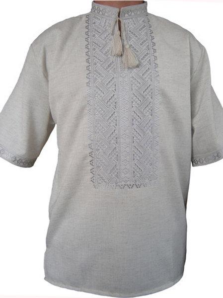 #вишиванка чоловіча безпосередньо на льоні (Арт. 00327)