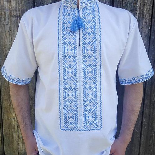 Вишиванка, чоловіча вишита сорочка (Арт.01873)