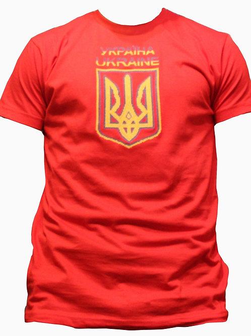 #футболка чоловіча з патріотичною вишивкою (Арт. 00526)