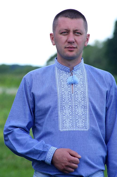 Вишиванка, чоловіча вишита сорочка (Арт. 01972)