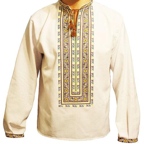 Вишиванка, чоловіча вишита сорочка (Арт. 00529)