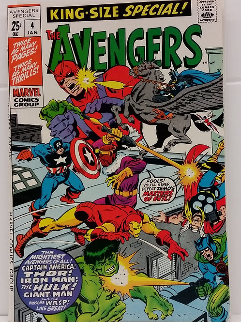 The Avengers Annual #4 Vol. 1