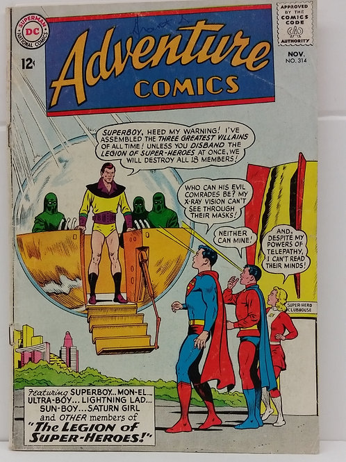 Adventure Comics #314 Vol.1