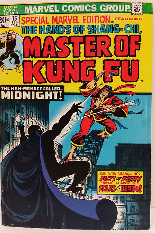 Special Marvel Edition #16: Master Of Kung-Fu