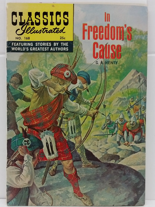 Classics Illustrated #168