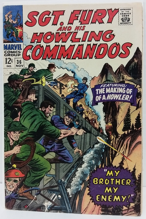 Sgt. Fury And His Howling Commandos #36