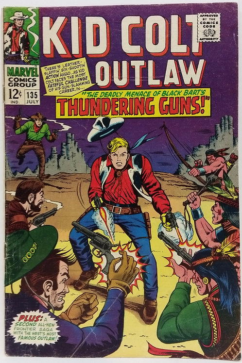 Kid Colt Outlaw #135