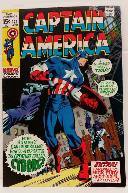Captain America #124 Vol. 1