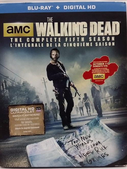 The Walking Dead: Fifth Season.