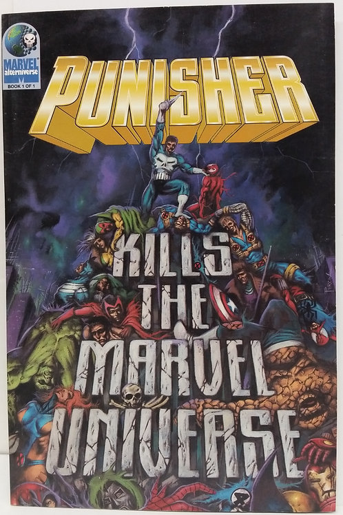 Punisher Kills The Marvel Universe #1