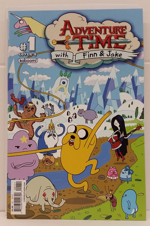 Adventure Time With Finn and Jake #1