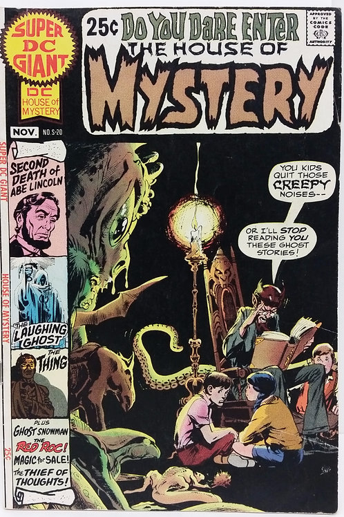 Super DC Giant S-20: House Of Mystery