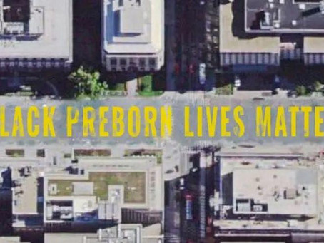 Pro-lifers win permission to paint 'Black Preborn Lives Matter' on D.C. street