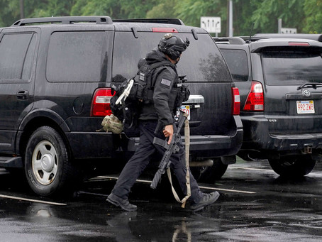 Heavily Armed Militia Group Arrested on Rt. 95 In Wakefield Massachusetts