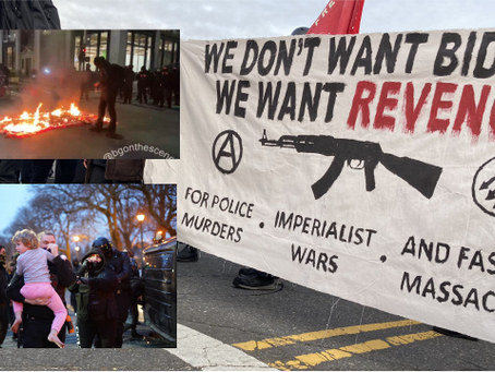 Antifa/BLM Riots Continue in Seattle, Boston and Portland During Biden Inauguration