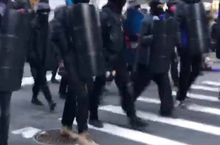 Mob of BLM and Antifa Attack Trumpers in New York. Media Silent. Now We Know Why.