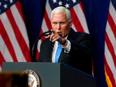 Mike Pence will play a huge role on January 6th, and could push the election to Trump.
