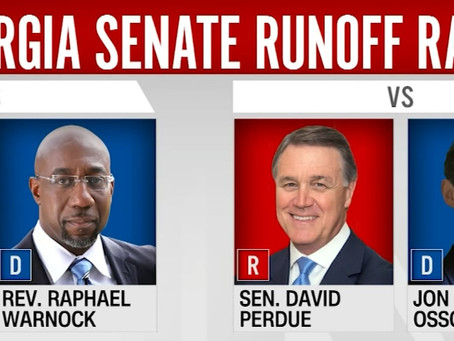 Irregularities from Georgia Senate Race in Real Time