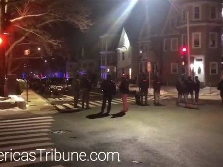 Exclusive Footage: Somerville Massachusetts SWAT House Raid of Mentally Unstable Man 2/04/21