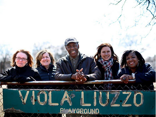 I give a boost to Detriot's Viola Liuzzo Park Project