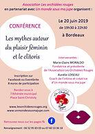 Conférence plaisir féminin et clitoris