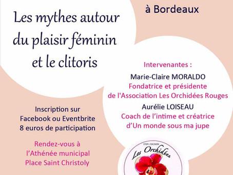 Conférence sur les mythes autour du plaisir féminin et le clitoris