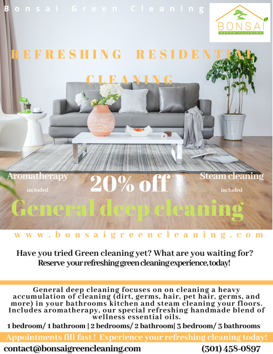 Save now on your deep cleaning needs!!